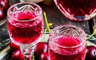 Лучшие рецепты настойки из вишни в домашних условиях