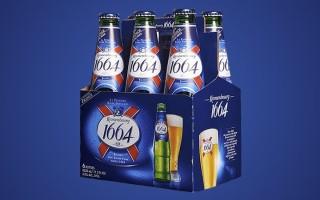 Пиво Кроненберг 1664 (Kronenbourg 1664) — описание и история происхождения