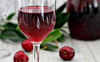 Простой рецепт приготовления домашнего вишневого вина